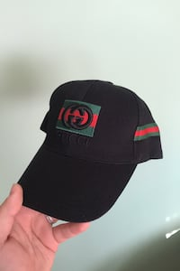 Mens or womens Gucci baseball cap BLACK