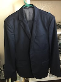 Express Men's Navy Blue Suit w Pinstripes 40R San Jose, 95123