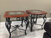 Two cherry wood end table side Aberdeen prentice Palm Bay, 32909