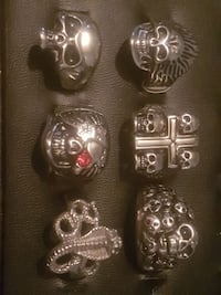 **SMALL COLLECTION OF MENS RINGS** Manchester, M40