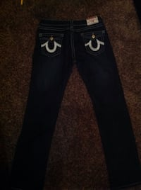 Women's True Religion joey super T waist 32 length 33 Dark Clarksville, 37042