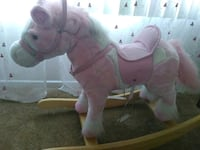 pink and white rocking horse Los Angeles, 90710
