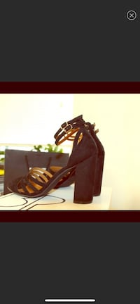 BP. gorgeous strappy sandal, really comfy size 9