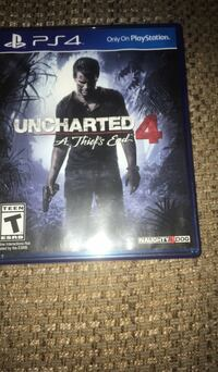 Uncharted 4 PS4 game case Richmond, 40475