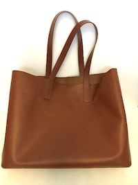 Everlane Day Market Tote in Cognac VANCOUVER