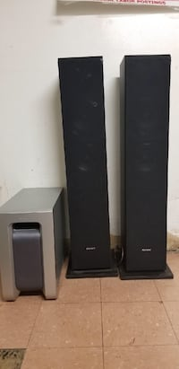 Black and gray home theater system Arlington, 22206
