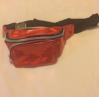 Red Holographic Fanny pack