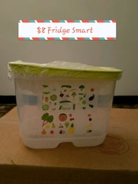 white and green plastic container Elkhart, 46516
