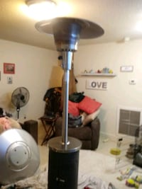 Outdoors/patio propane heater stainless steel