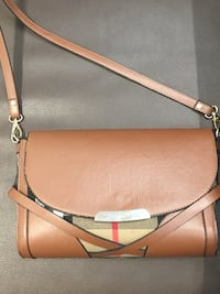Burberry brown leather crossbody  Chantilly, 22033