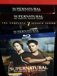 Supernatural seasons DVDs I  Halifax, B3P 1H3