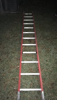 red and white metal ladder Houston, 77084