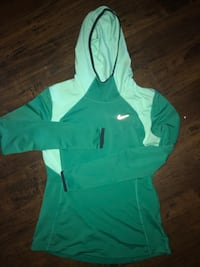 Green and white nike pullover hoodie Moore, 73160