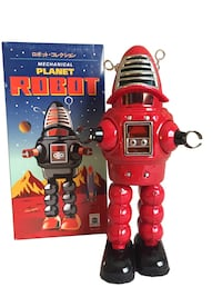 Brand new tin toy spaceman Los Angeles, 90034