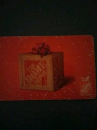 Card Home Depot card $319 selling 160