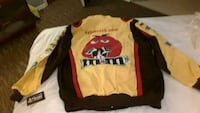New Kyle Bushe Nascar Racing Jacket XL Youngstown