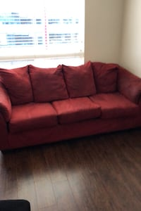 Red couch free