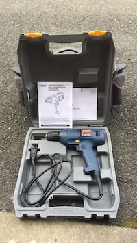 blue and black Bosch corded power drill Annandale, 22003