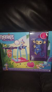 Fingerling monkey with playset-$45