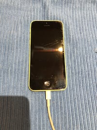 Yellow iPhone 5C 16GB