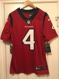 New Sz S Nike Deshaun Watson Houston Texans Battle Red Vapor Jersey