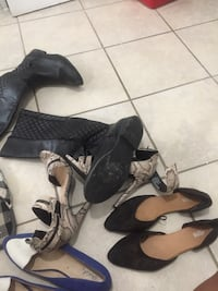 Shoes/slipper to give away ALL. I'm cleaning up summer/old stuff size8 London, N6J 1R8