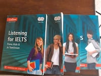 IELTS Speaking, Listening, Reading, and writing books