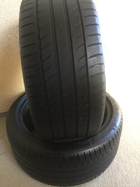 "(275/35R19"") MICHELIN 2 Tires Used 49$ both"
