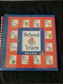 School Years Memory Keeper -NEW
