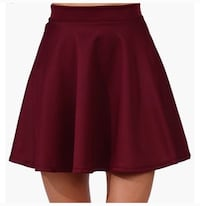 women's red skirt Washington, 20059