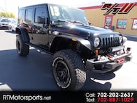 2013 Jeep Wrangler Unlimited Rubicon 4WD Las Vegas