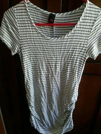 white and black striped crew-neck t-shirt Jacksonville, 32226