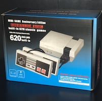Classic Mini Console with 620 Games 40$