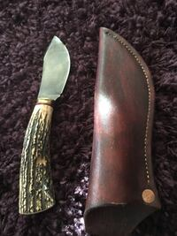 Hunting knife - hand crafted