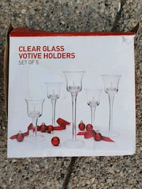 Clear Glass Votive Holders  Calgary, T2Z 4W6