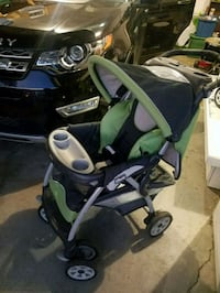baby's green and black stroller Huntsville, 35803
