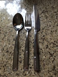 two stainless steel spoon and fork Hamilton, L8B 2Z7
