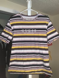 Guess Striped Tee Triangle, 22172