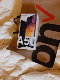 Brand new unopened galaxy A50