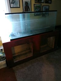 200 Gallon fish tank with stand