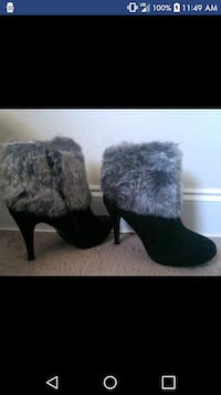Faux Fur Ankle Boots Harahan, 70123