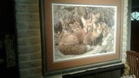 brown-framed foxes painting Fresno, 93726