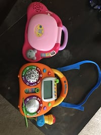 Vtech learning toys. Kids karaoke+baby's light up laptop. Mississauga, L5B 4A1