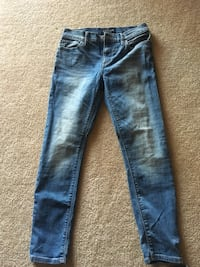 blue denim straight cut jeans Westminster, 21157