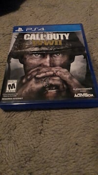 PS4 Uncharted 4 game case Bakersfield, 93309