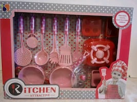 KITCHEN TOY SET