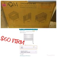 Dream On Me 2 in 1 Folding Portable Crib Sacramento, 95864