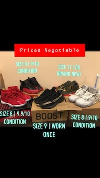 Shoe Collection | Size 8-11 | Yeezys, Air Jordans, Nikes