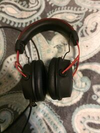 black and red corded headphones Arlington, 22206