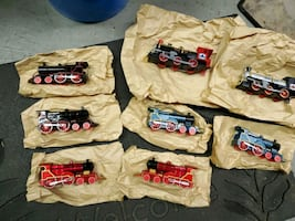 Toy Trains 8 trains total